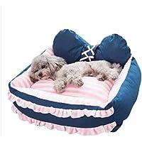 Suministros para mascotas Perrera Perro pequeño de tamaño Mediano algodón PP Desmontable Limpieza Perro Golden Retriever
