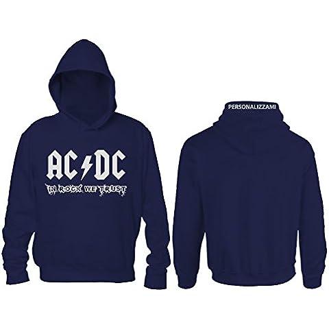 Felpa ACDC In Rock We Trust