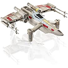 Propel Collectors Edition Wars Battling Quadcopter: T-65 X Wing Star Fighter Drone WARS-T-65, SW-1977-CX, Gris/Blanc/Bleu, Taille Unique