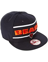 New Era - Casquette Snapback Homme Chicago Bears 9Fifty Word Stripe