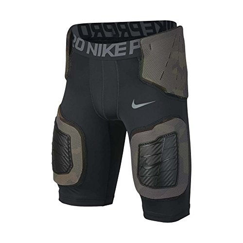 Boy's Nike Pro Hyperstrong Core Football Shorts Black/Dark Grey/Flint Grey Size Medium