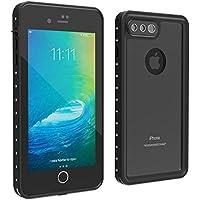 iPhone 7/8 Plus Waterproof Case, UBeesize Drop Resistant Full Sealed Underwater Protective Cover Dirtproof Snowproof Shockproof IP68 Certified Waterproof Case for iPhone 7 Plus(5.5 inch)