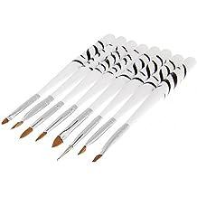Profi 8tlg Pinsel Set Nail Art Gel-Pinsel Nageldesign Nagellack Nagel Kunst Pinsel Set Nagelstudio
