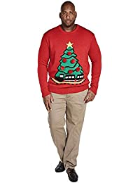 D555 - Pull - Homme rouge Red XX-Large