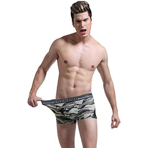 Ouneed® Battle Fatigues Sexy Underwear U-shaped T back Underware Taste Underwear (Camuffare, L)