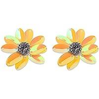 5pcs Flores DIY costura de patchwork diseño con motivos Tela para vestidos, vestidos de