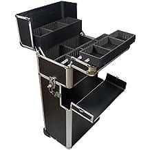 Aluminio Trolley–Mobiles Studio 02 Schwarz Carbon 240 x 380 x 720 mm