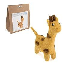 Trimits Needle Felting Kit Giraffe, Assorted, 12 x 3.5cm