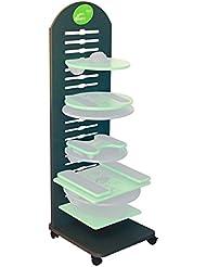 MFT Geräteständer für bis zu 10 MFT Discs, 50x56x160 cm