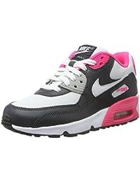 Nike Air Max 90 Mesh (Gs), Zapatillas de Deporte para Niñas
