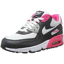 Nike Air Max 90 Mesh (GS), Chaussures de Sport Fille