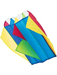 M.Y Pocket Nylon Parafoil Kite 60cm x 51cm with Line & Storage Bag