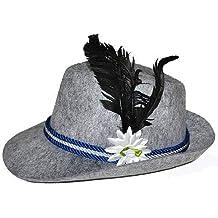 Lipodo Sombrero de Fieltro Lana Dreispitz by bávarosombrero alpino bávaro 7d80703b2ec