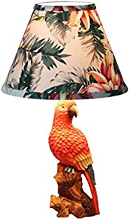 NDHUR Parrot Bird Table Lamp/Children Table Lamp Bedroom Bedside Lamp Cartoon Boy Girl Room Decoration Gift