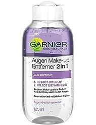 Garnier Skin Naturals Mizellen Reinigungswasser zum Augen Make-up entfernen 2 in 1 – Abschminkmittel für wasserfestes Makeup, mit natürlichem Arginin, 6 x 125 ml