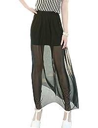 pretty nice 3b5f8 4b43f gonna lunga trasparente: Abbigliamento - Amazon.it
