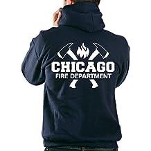 Kapuzensweatjacke CHICAGO FIRE DEPT., Äxte und CFD-Emblem