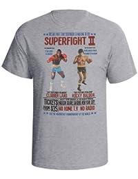 Balboa V Lang Hombres Boxing Película camiseta