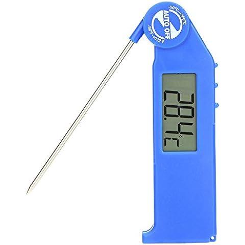 KKmoon Termometro Digitale Pirometro da Cucina con Sonda della Rilevamento per BBQ