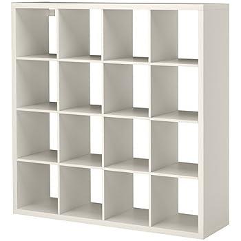 Ikea Kallax Regal Weiss 147 X 147 Cm Amazon De Kuche Haushalt
