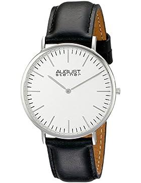August Steiner Herren-Armbanduhr AS8084XBK Analog Quarz