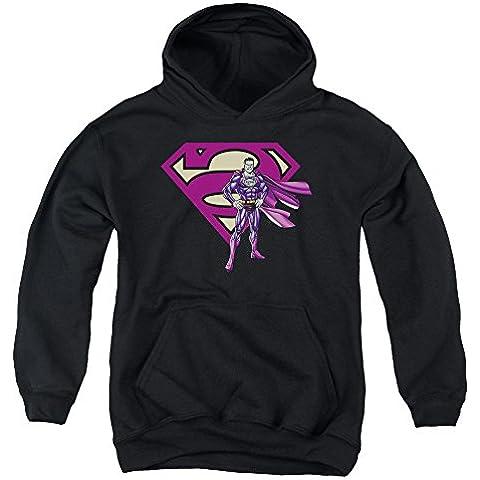 Superman - - Bizarro Jóvenes y del logotipo Sudadera con capucha