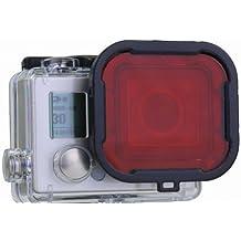 Rotfilter für GoPro HERO3+ Hero4 Redfilter Gopro Tauch Rotlichtfilter