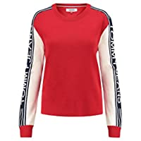 Tommy Hilfiger Sweatshirts For Women, Red XL, Size XL