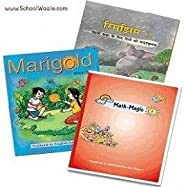 NCERT Books Set for Class 1 (English Medium) (3 Books - SchoolWaale Binded Books)