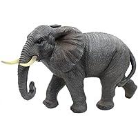 1 Stück Elefant Dekofigur Afrika Deko Figur 17 x 14 x 6 cm