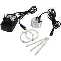 24 V Ultrasónico Fuente de Agua Nebulizador Fuente Florero Tanque de Acuario Atomizador Humidificador de Aire Generador de Niebla con Adaptador(EU)