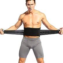 """Doact Faja Lumbar para Protección de Cintura, Ajustable Cinturón Reduce el Dolor de Espalda para Hombre y Mujer (L (vientre 30 """"-44""""))"""