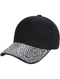 ❤️Amlaiworld Visor de Verano Mujer Gorra de béisbol Mujer Gorra de Snapback  con Forma de Pata de Diamante de imitación Sombreros Plano… 56240057007