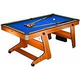 BCE 6Ft Table de Billard Pliable avec de Tennis de Table, Taille unique