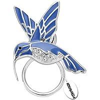 noumanda Natura gioielli smalto Colibrì magnetico porta occhiali Smeraldo Bird Magnetico Spilla
