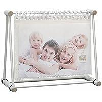 Deknudt Frames S67AB6 Fun & Deco 10x15 Fotoringbuch Silber für 24 Bilder 10x15cm Kunststoff Fun & Deco