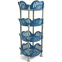 Galileo Casa Chariot cuisine 4étagères, bleu