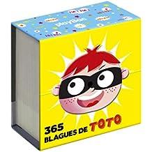 Mini calendrier - 365 blagues de Toto
