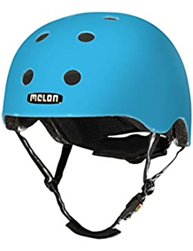 Melon Urban Active - Casco de ciclismo, color azul