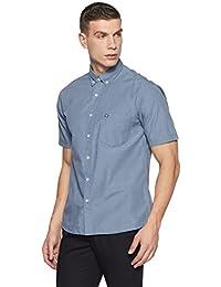 Arrow Sports Men's Solid Regular Fit Cotton Casual Shirt