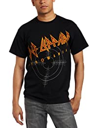 Fea Merchandising Men's Def Leppard On Target Tee