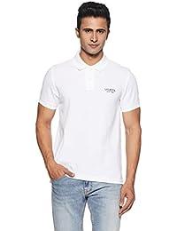 US Polo Association Men's Solid Regular Fit Cotton Polo