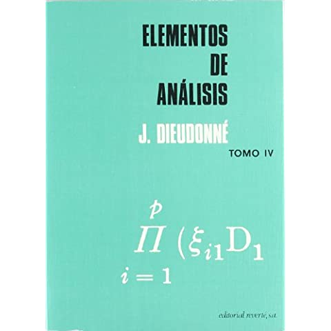 Elementos de análisis. Volumen 4