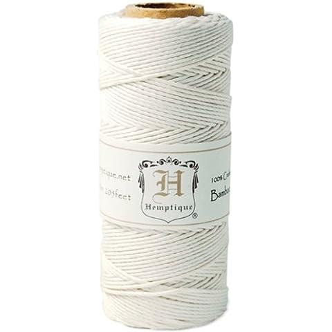 Hemptique-Cavo in bobina 9071,84G (20lb '-White 205), altri, multicolore - Bobine 20 Pound