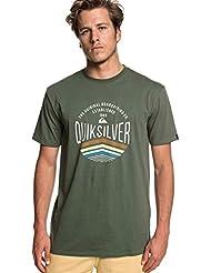 Quiksilver Sunset Logo T-Shirt Homme