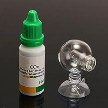 Tutoy Acuario De Dióxido De Carbono Co2 Monitor De Ph Indicador De Vidrio Drop Ball Checker
