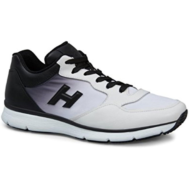 df83363070bde Hogan Sneakers Baskets Homme en Cuir Blanc - Code Code - Modèle   HXM2540Y280ZPO0001 - B075MBM69W. «