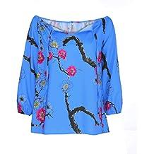 Yesmile Mujer Camisetas❤️Las Mujeres Camisa Forme a Mujeres la Moda de Las señoras de