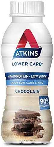 Atkins Chocolate Shake Liquid Milk, 330ml