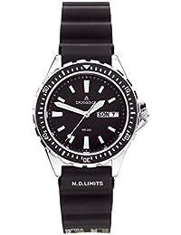 Dugena Damen-Armbanduhr Taucheruhr - Sport Line Analog Quarz Kautschuk 4167848